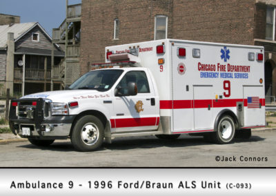 Chicago FD Ambulance 9