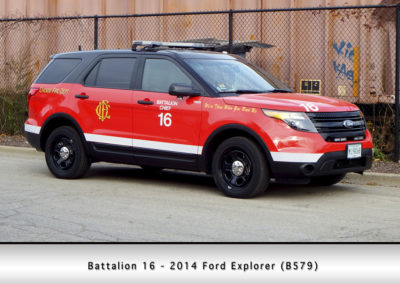 Chicago FD Battalion 16