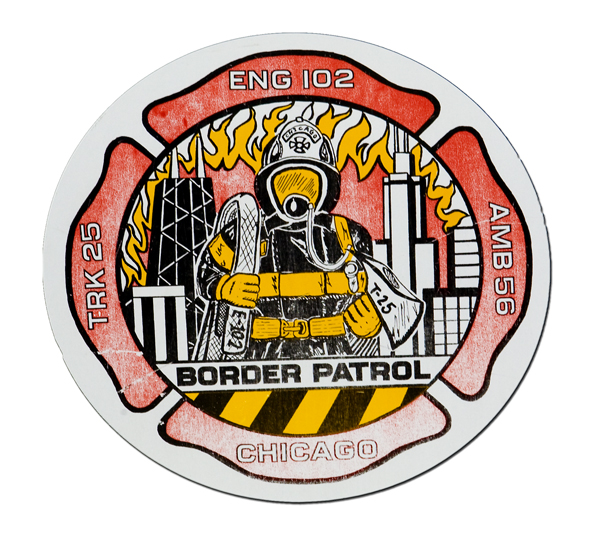 Chicago FD Engine 102's patch