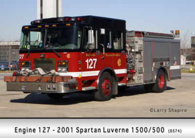 Chicago FD Engine 127
