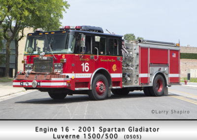 Chicago FD Engine 16