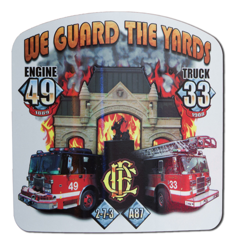 Chicago FD Engine 49 Truck 3 decal
