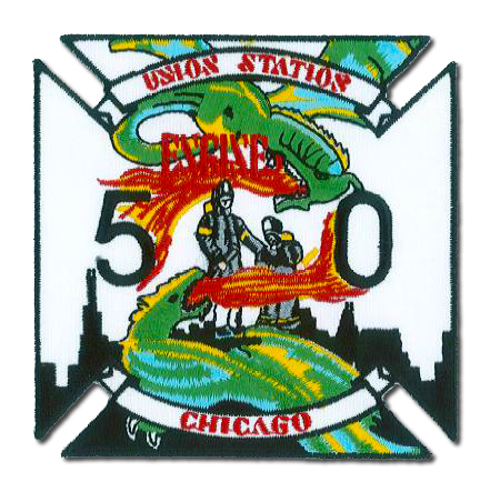 Chicago FD Engine 50's patch