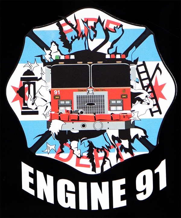 Chicago FD Engine 91's decal