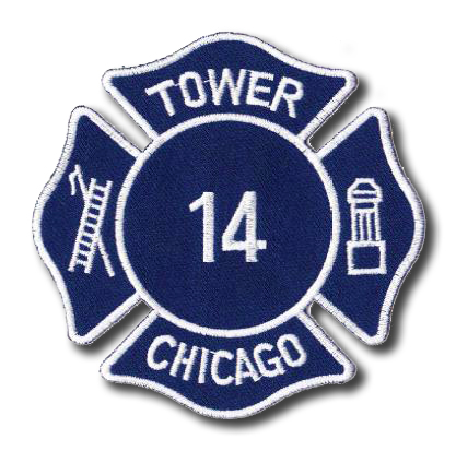 Chicago FD Tower 14's patch