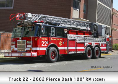 Chicago FD Truck 22