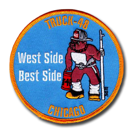 Chicago FD Truck 48's patch