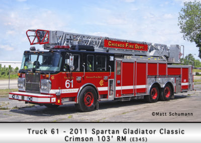 Chicago FD Truck 61