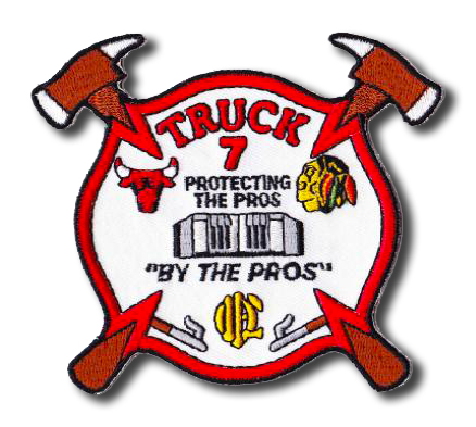Chicago FD Truck 7's patch