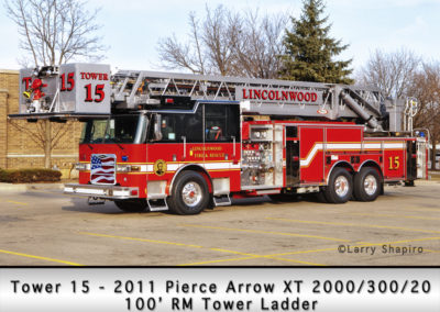 Lincolnwood FD Tower 15