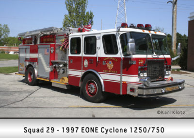 Northfield Fire Department Engine 29 (X-Squad 29)