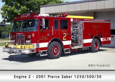 Niles Fire Department Engine 2R