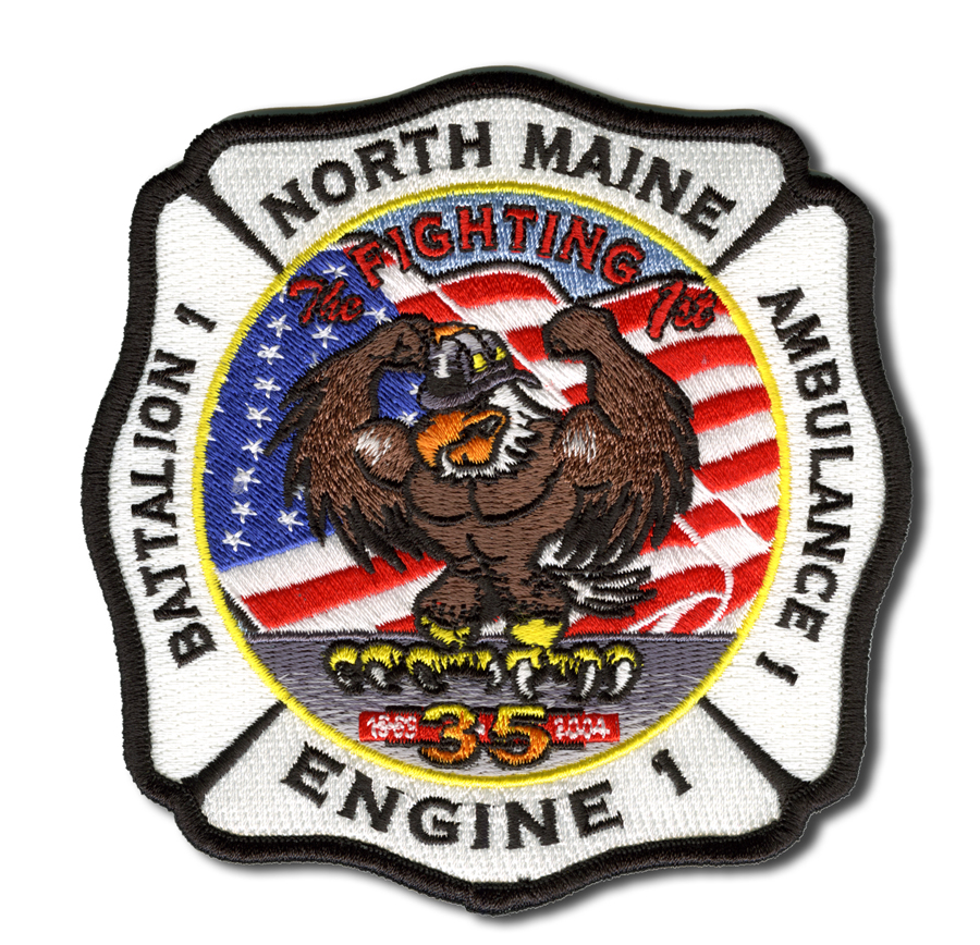 North Maine FPD Engine 1 patch