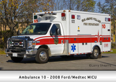 Elk Grove Village FD Ambulance 10