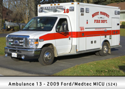 Mount Prospect FD Ambulance 13R