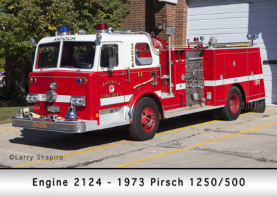 Antioch Fire Department Engine 2124