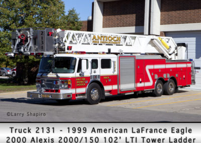 Antioch Fire Department Tower 2131