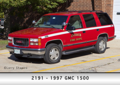 Antioch Fire Department 2191