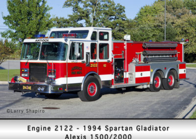 Antioch Fire Department Engine 2122