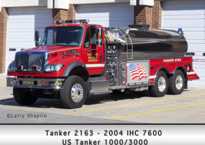 Antioch Fire Department Tanker 2163