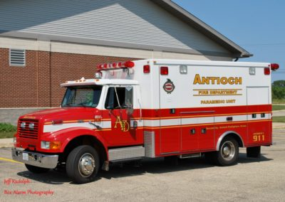 Antioch Fire Department Ambulance