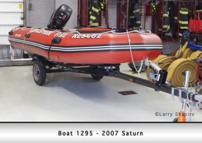 Beach Park Fire Department Boat 1295