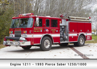 Beach Park Fire Department Engine 1211