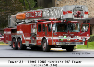 Buffalo Grove Fire Department Reserve Tower 25