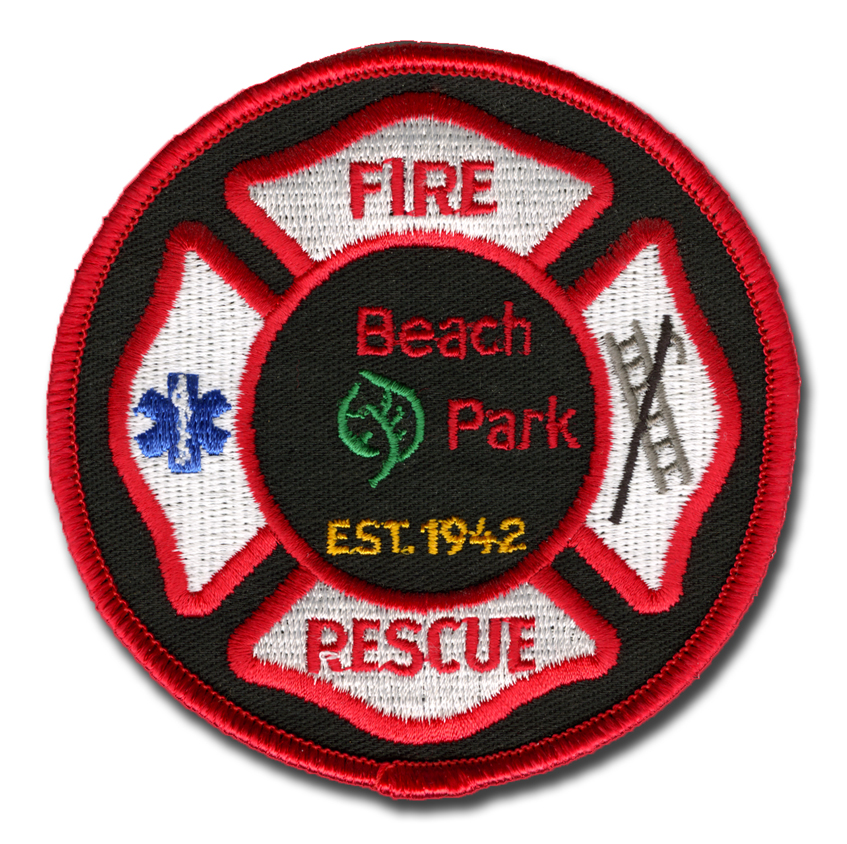 Beach Park Fire Department patch