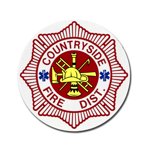 Countryside Fire Protection District decal