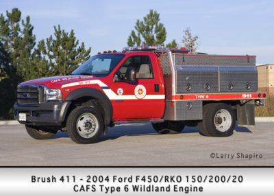 Countryside Fire Protection District Brush 411