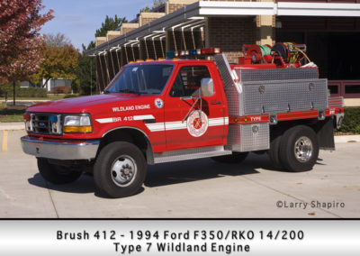 Countryside Fire Protection District Brush 412