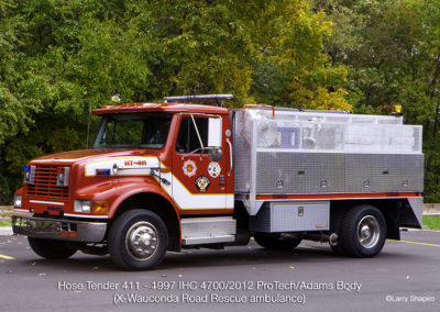Countryside Fire Protection District Hose Tender 411