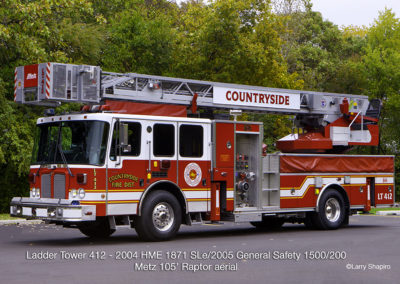 Countryside Fire Protection District Ladder Tower 411