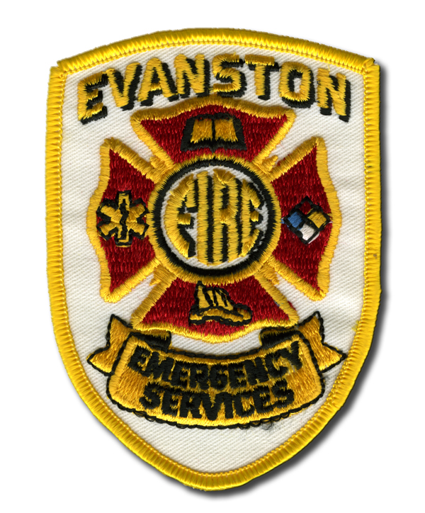 Evanston Fire Department patch