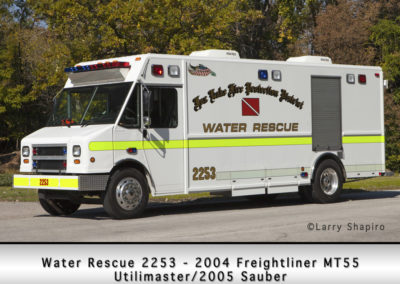 Fox Lake Fire Department Water Rescue 2253
