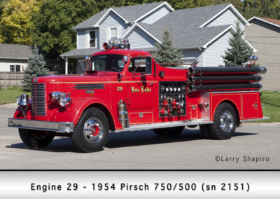 Fox Lake Fire Department Engine 29