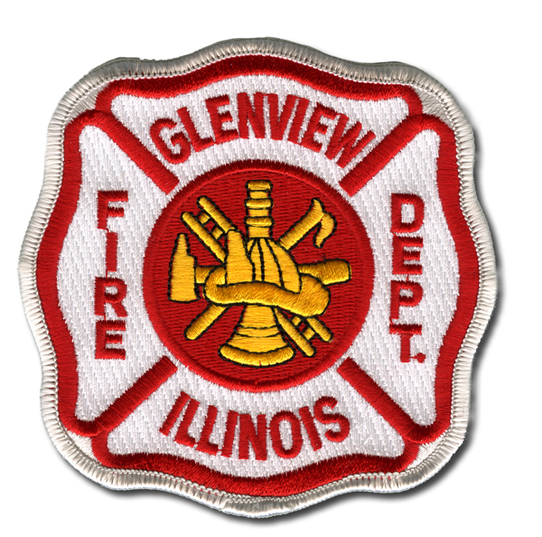 Glenview Fire Department patch