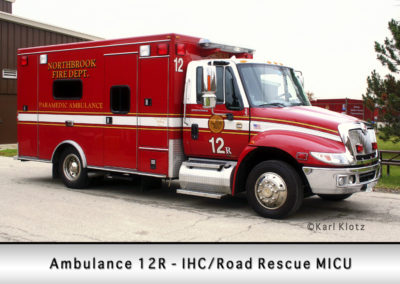 Northbrook Fire Department Ambulance 12R