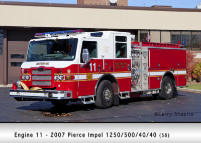 Northbrook Fire Department Engine 11