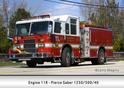 Northbrook Fire Department Engine 11R