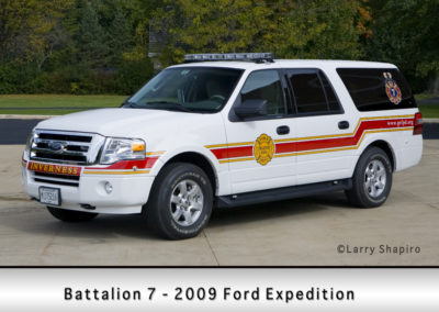 Palatine Rural Fire Protection District Battalion 7