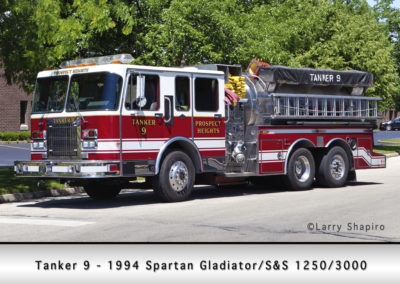 Prospect Heights Fire District Tanker 9