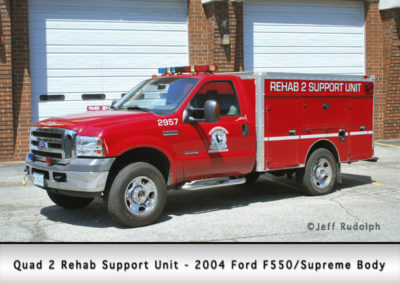 Antioch Fire Department Quad 2 Rehab Support Unit