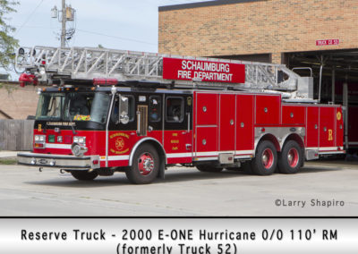 Schaumburg Fire Department Reserve Truck