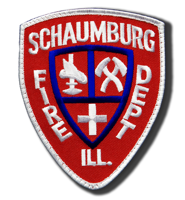 Schaumburg Fire Department patch