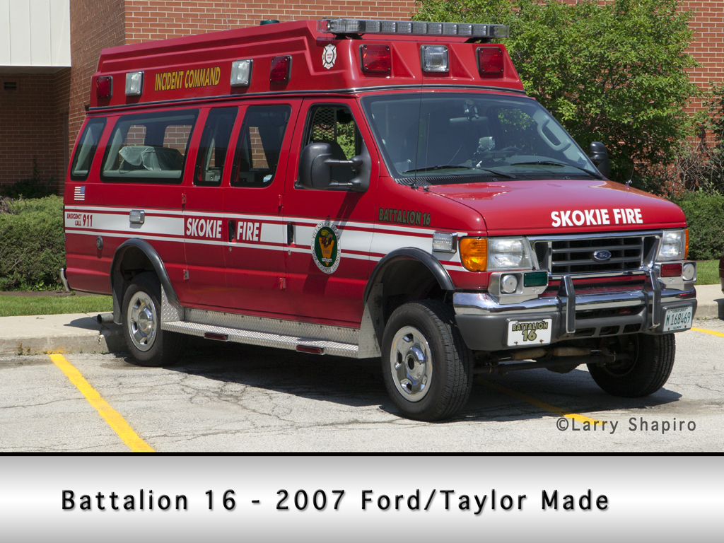Skokie Fire Department Battalion 16
