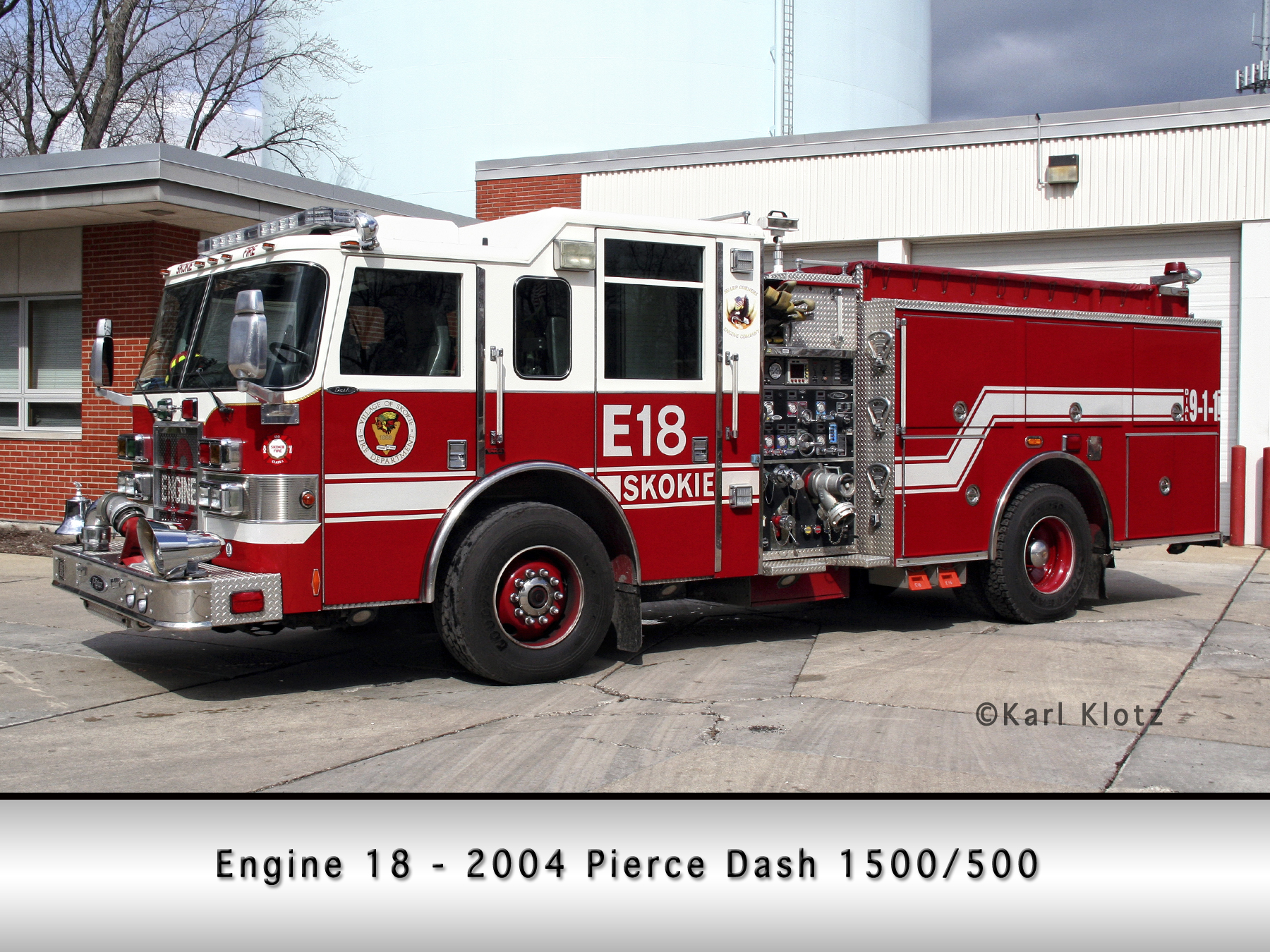 Skokie Fire Department Squad 18