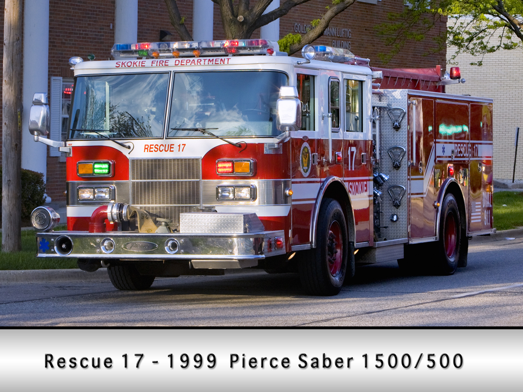 Skokie Fire Department Engine 17