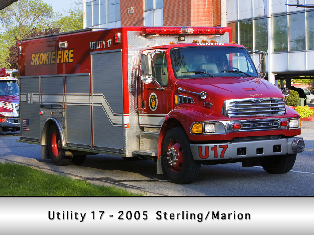 Skokie Fire Department Utility 17